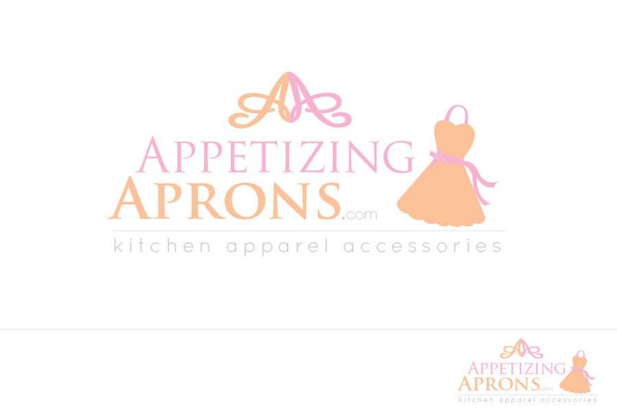 """Intrarea #37 pentru concursul """"Logo Design for AppetizingAprons.com"""""""