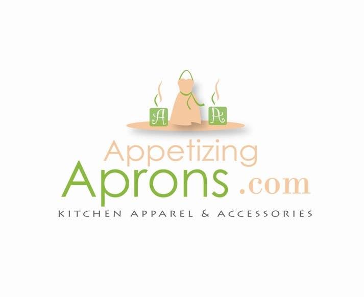 """Intrarea #80 pentru concursul """"Logo Design for AppetizingAprons.com"""""""