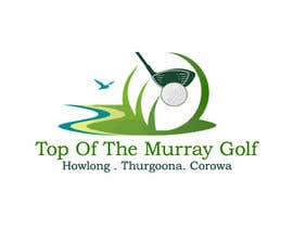 #40 pentru Logo Design for Top Of The Murray Golf de către XPLORTECH