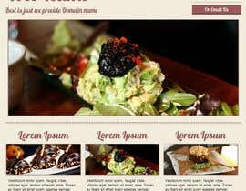 #7 for Design a Website Mockup for FoodDelivery af alishahwafi