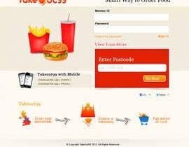 #9 for Design a Website Mockup for FoodDelivery af ZWebcreater