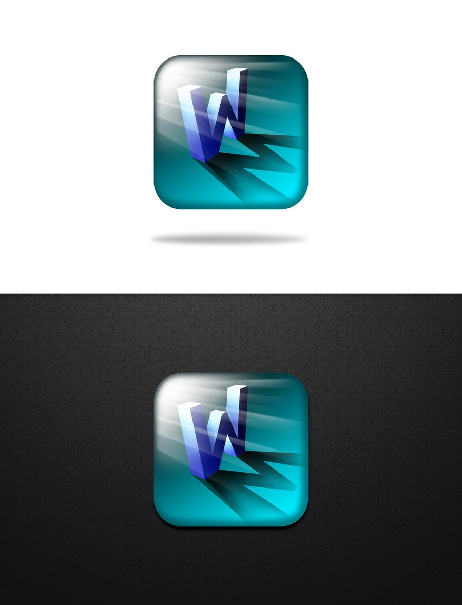 #1610 for W.M app icon design  by KhalfiOussama