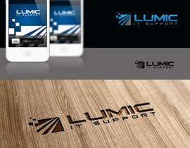 #40 cho Logo Design for Lumic IT Support bởi maidenbrands