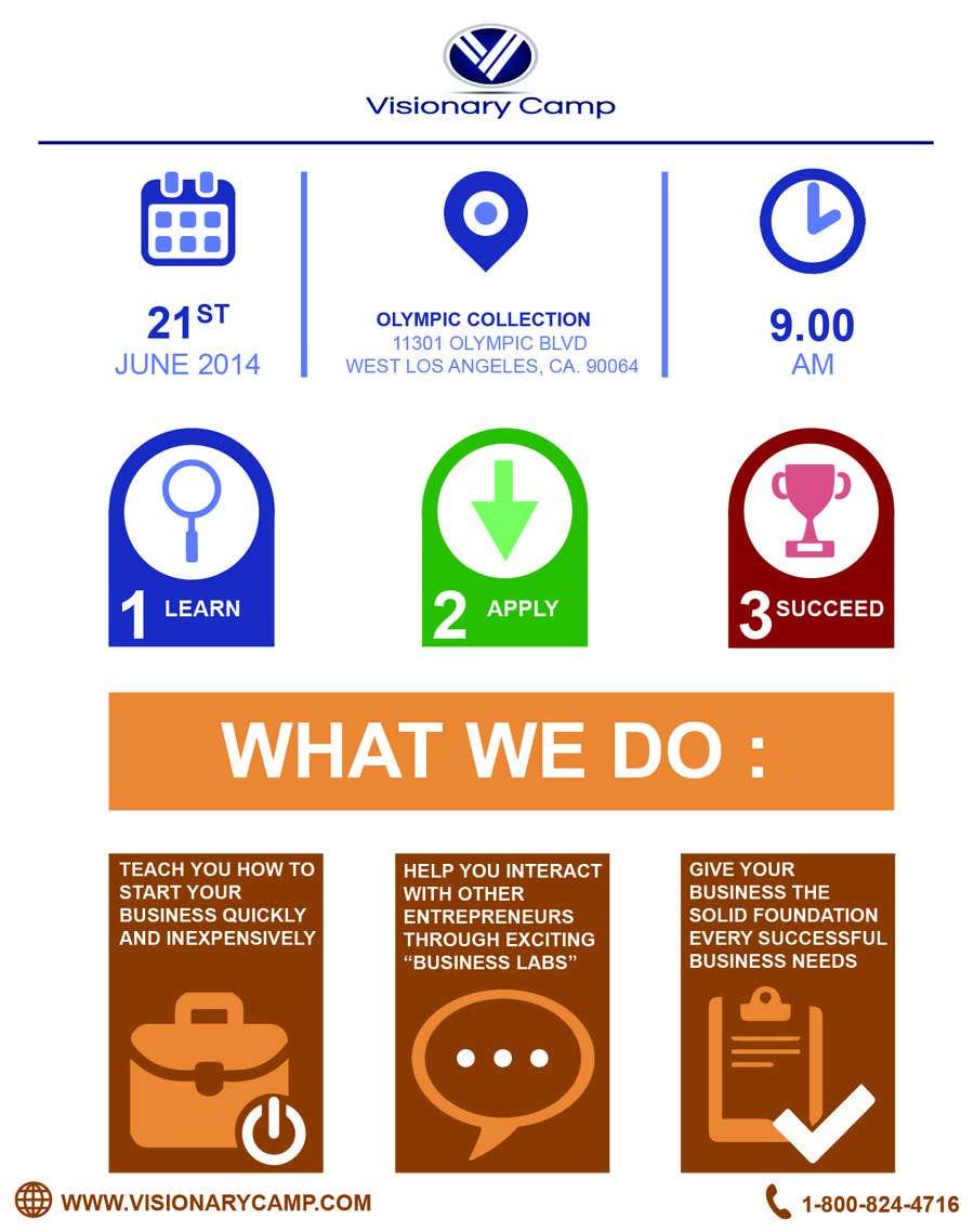 Penyertaan Peraduan #                                        4                                      untuk                                         Design infographic flyer