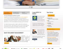 #15 for Layout the contents of the Home page of a web-site using a defined template af rgbroot