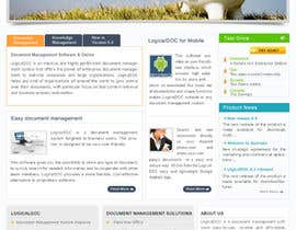 #24 for Layout the contents of the Home page of a web-site using a defined template af AaryaInf