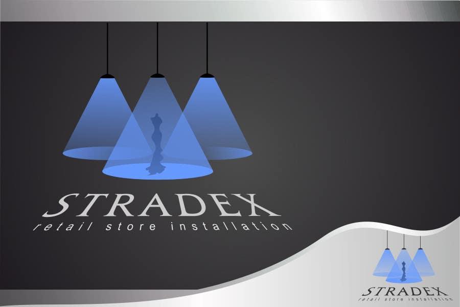 Penyertaan Peraduan #59 untuk Logo Design for Stradex Installations