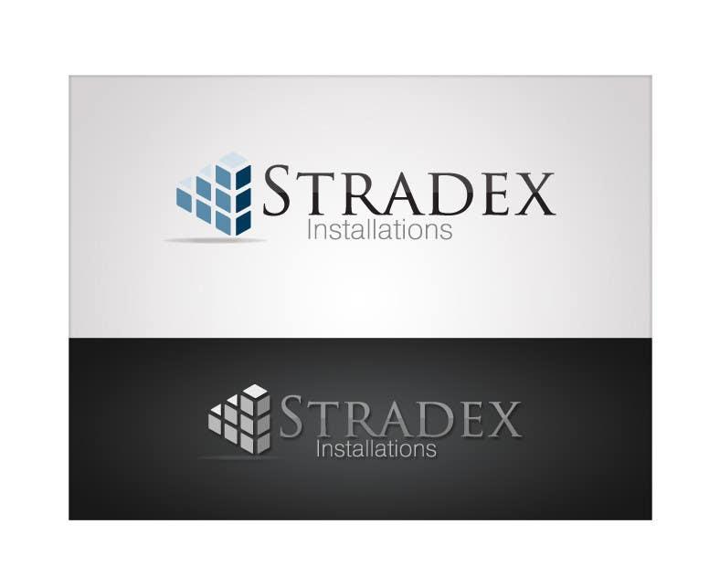 Penyertaan Peraduan #112 untuk Logo Design for Stradex Installations