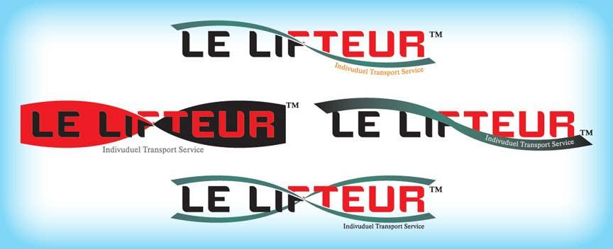 Logo Design for Le Lifteur için 92 numaralı Yarışma Girdisi