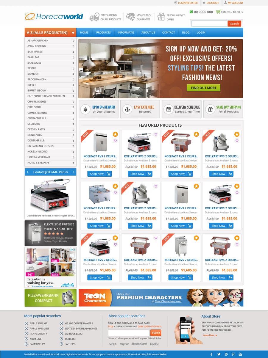Konkurrenceindlæg #                                        10                                      for                                         New design webshop