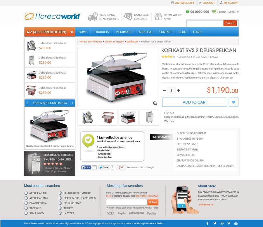 Konkurrenceindlæg #                                        11                                      for                                         New design webshop