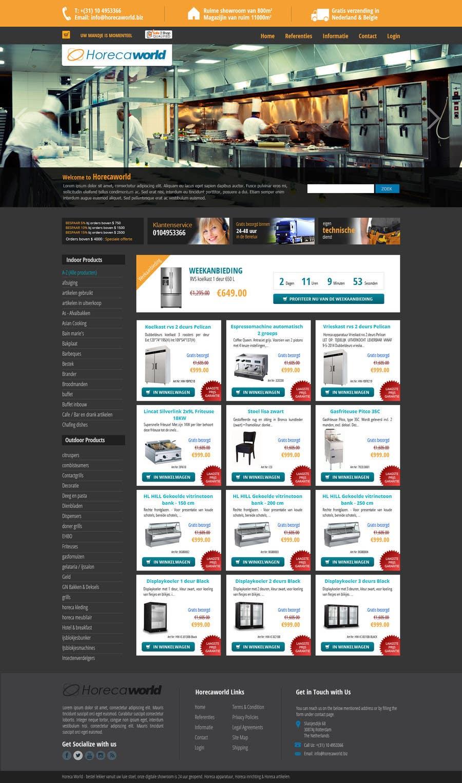 Konkurrenceindlæg #                                        7                                      for                                         New design webshop