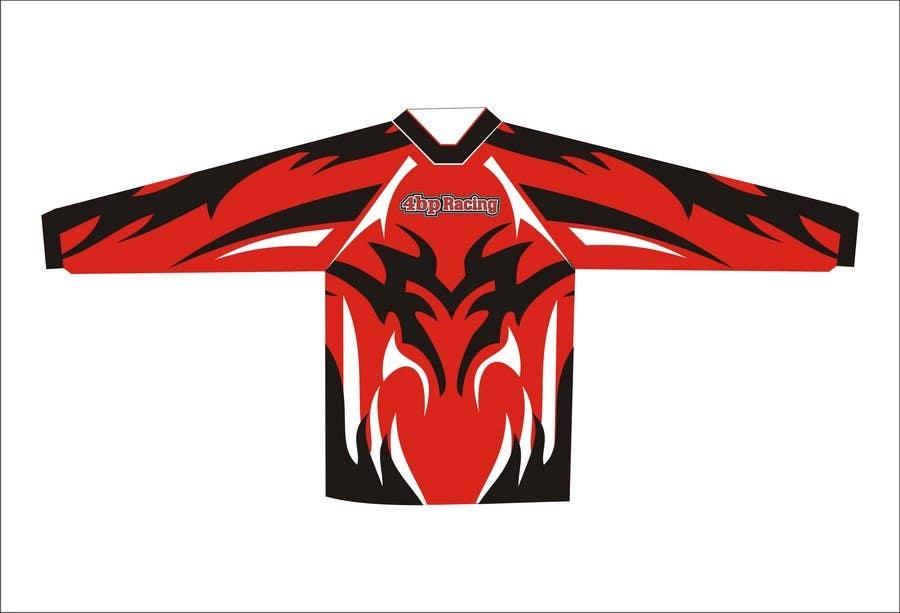 Kilpailutyö #7 kilpailussa Long sleeve racing T-shirt Design for 4bpracing.com.au