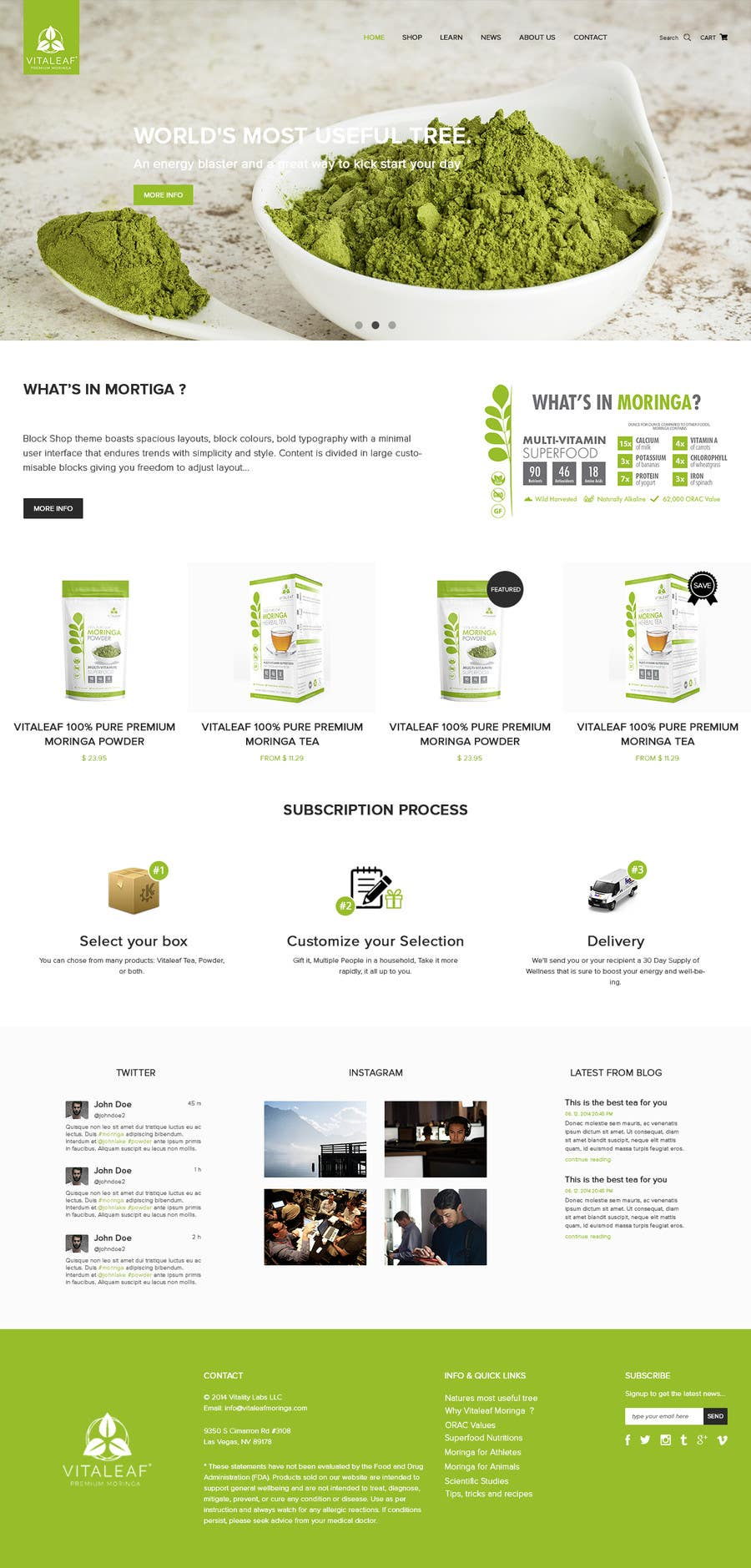 #18 for Customize a Shopify Template for Health Food Supplement Website Mockup by kenqdesign