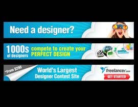 #189 สำหรับ Banner Ad Design for Freelancer.com โดย aztuzt