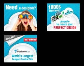 #190 สำหรับ Banner Ad Design for Freelancer.com โดย aztuzt