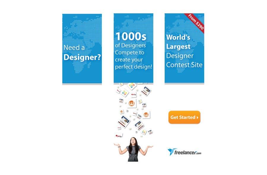 Contest Entry #213 for Banner Ad Design for Freelancer.com