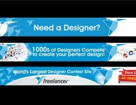 #243 สำหรับ Banner Ad Design for Freelancer.com โดย sikoru