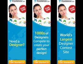 #242 สำหรับ Banner Ad Design for Freelancer.com โดย zoomdesign