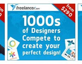 nº 238 pour Banner Ad Design for Freelancer.com par BenGraphics