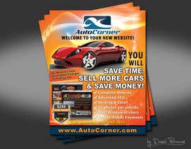nº 13 pour Flyer Design for AutoCorner par dalizon