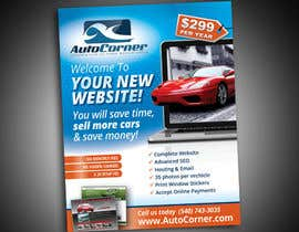 #18 для Flyer Design for AutoCorner от krisztiankerek