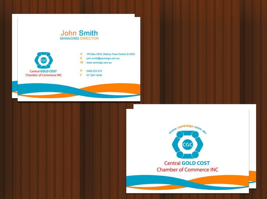 Inscrição nº 30 do Concurso para ***URGENT*** Business Card Design for Central Chamber of Commerce
