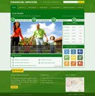 Mockup for 1 page of new website design için Graphic Design8 No.lu Yarışma Girdisi