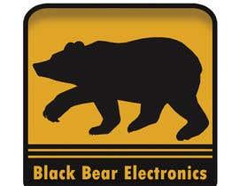#24 cho Design a Logo for Black Bear Electronics bởi adampoako