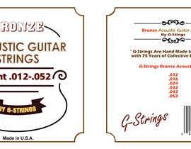 Franstyas tarafından Create Print and Packaging Designs for Acoustic Guitar Strings için no 22