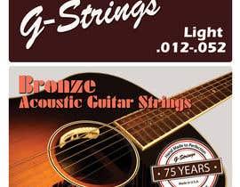 Franstyas tarafından Create Print and Packaging Designs for Acoustic Guitar Strings için no 23