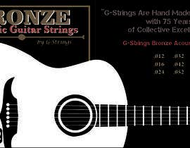 nznabil tarafından Create Print and Packaging Designs for Acoustic Guitar Strings için no 27
