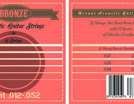 nznabil tarafından Create Print and Packaging Designs for Acoustic Guitar Strings için no 38