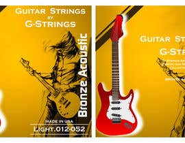 sshrivastava1980 tarafından Create Print and Packaging Designs for Acoustic Guitar Strings için no 37