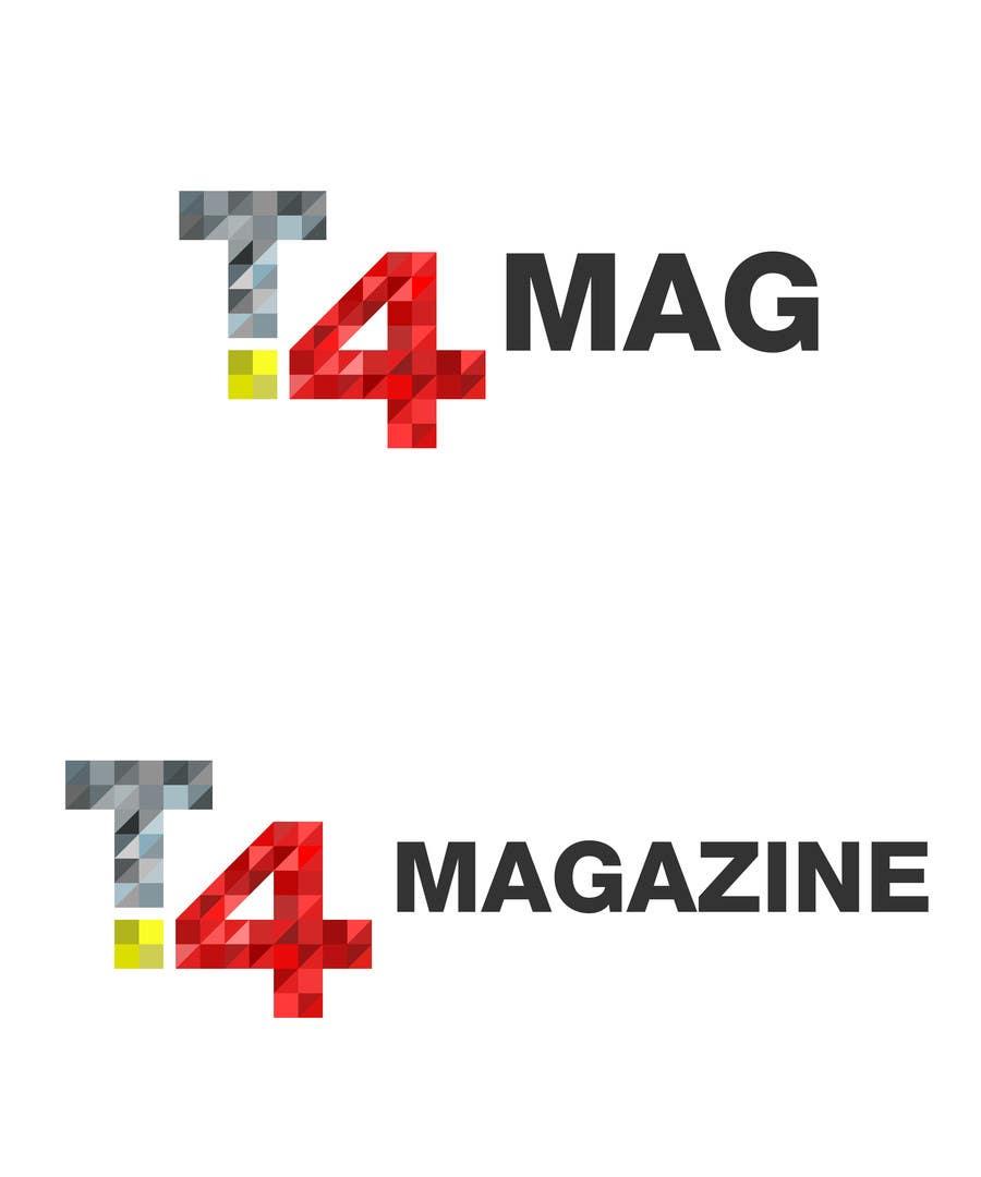 Penyertaan Peraduan #                                        156                                      untuk                                         Design a Logo for a tech news website