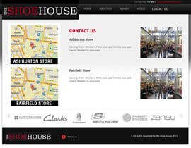 #24 pentru Website Design for The Shoehouse de către Mustardseed777