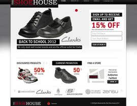 #22 para Website Design for The Shoehouse por Mustardseed777