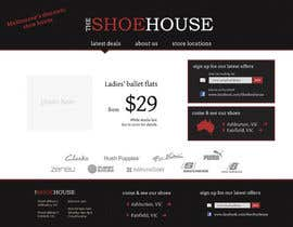 #16 pentru Website Design for The Shoehouse de către Hedgefrog