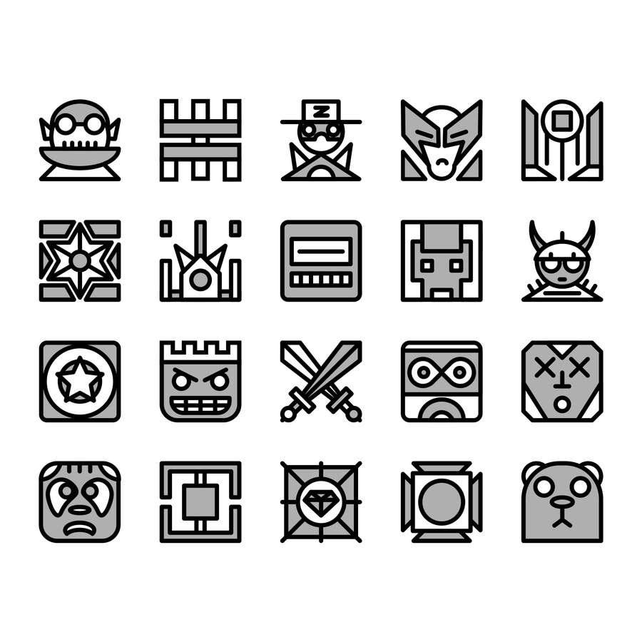 entry 6 by nikwb for design a geometry dash cube freelancer