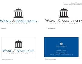 #3 cho Logo Design for Wang & Associates Solicitors bởi bwinterdesign