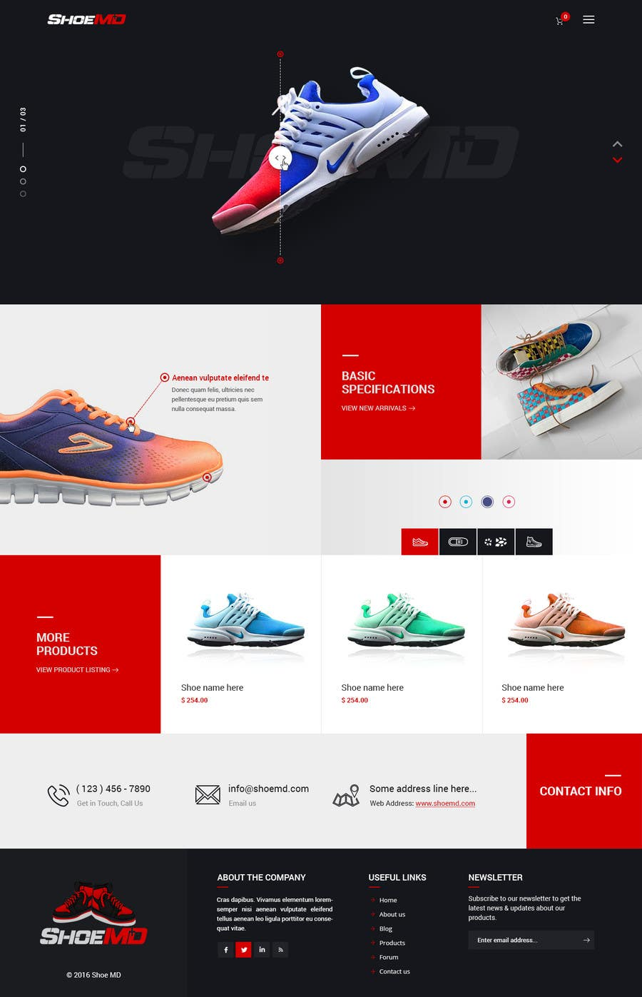 Entry  18 by nizagen for Landing Page for Shoes Site  e3de903f9