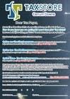 Graphic Design Entri Peraduan #13 for Design a Brochure for Tax Store & Nova BK