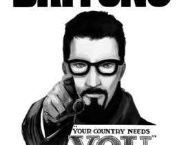 nº 1 pour Change the classic Britain Needs You poster to be Gordon Freeman par vaipiturajh