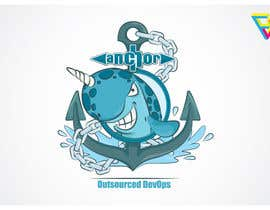 #108 para Sticker Design for Anchor por Ferrignoadv