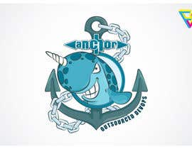 #107 for Sticker Design for Anchor by Ferrignoadv