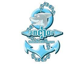 #72 para Sticker Design for Anchor por kenjiecuarto