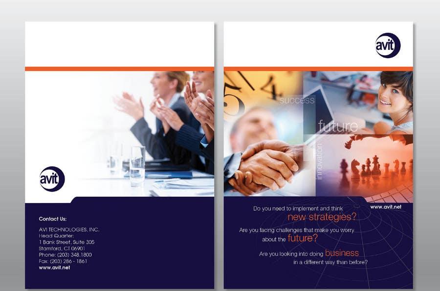 Konkurrenceindlæg #                                        13                                      for                                         Brochure Design for Avi Technologies Inc.