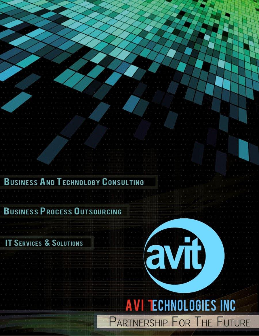 Konkurrenceindlæg #                                        27                                      for                                         Brochure Design for Avi Technologies Inc.