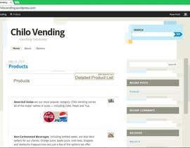 faizankhalid89 tarafından Design a logo and Website and upload to wordpress for www.chilovending.com için no 8