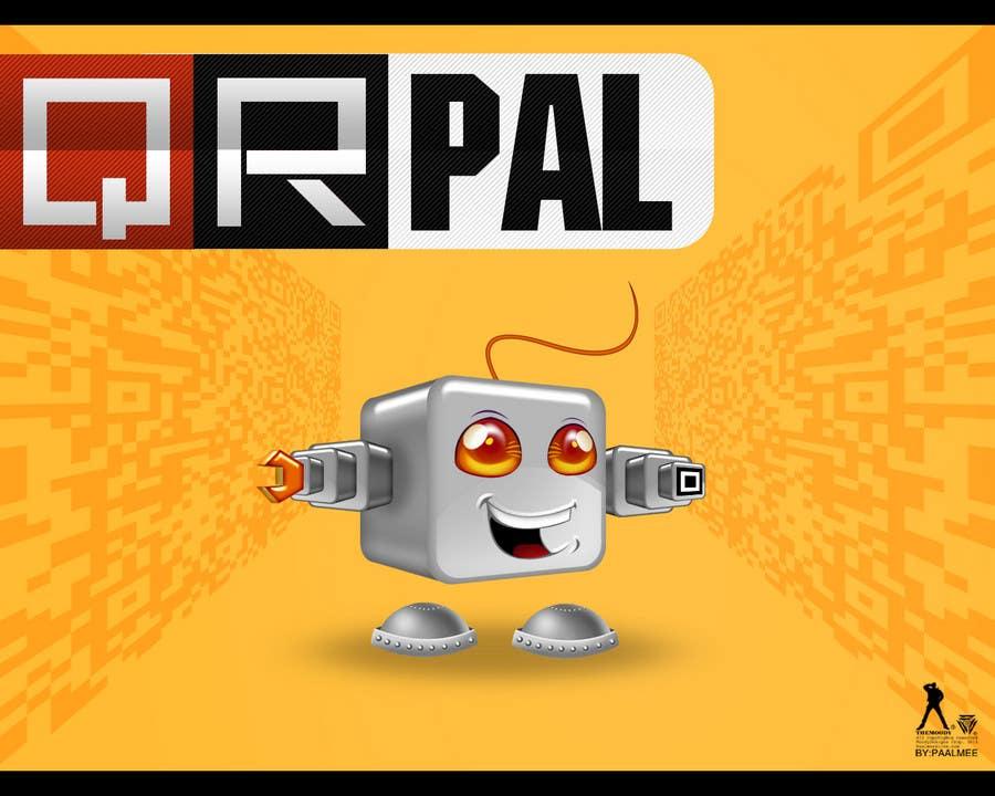 Proposition n°                                        373                                      du concours                                         Logo Design for QR Pal